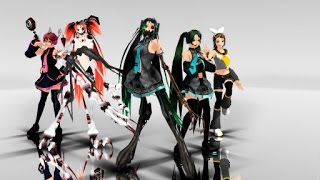 getlinkyoutube.com-[MMD] Electrika Halloween special with Calne Ca and Deino Models+Download Links In the discription)