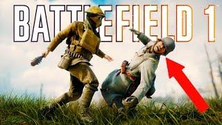 getlinkyoutube.com-Battlefield 1 - Random & Funny Moments #2 (Funny Faces, Plane Surfing!)