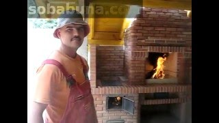 getlinkyoutube.com-Mangal cu cuptor si plita-barbeque