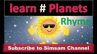 getlinkyoutube.com-Planets Nursery rhymes| SimSam