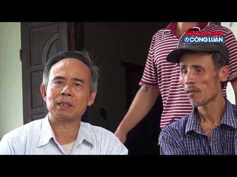 """Vụ Công ty Gỗ ép Minh Long xả thải Bảo vệ """"thay mặt"""" huyện Văn Giang tiếp báo chí"""