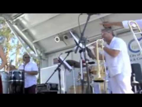 Saliz Franco &The Latin band Strawberry Festival Selena, Celcia Cruz and Marc Anthony covers