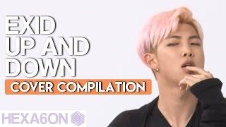 getlinkyoutube.com-EXID - Up & Down Idol Group Cover Compilation