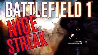 getlinkyoutube.com-Battlefield 1 Live - Nice Streak (MP18 Trench)