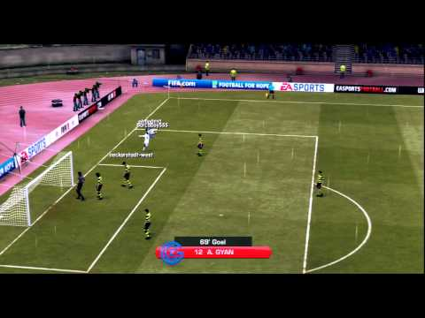 Fifa 11 - Online Pro Clubs Goals Compilation feat. Barcaboy