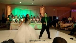 getlinkyoutube.com-Juju On Dat Beat Quinceanera Father Daughter Dance | Fairytale Dances