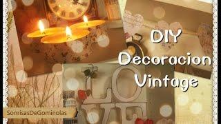 getlinkyoutube.com-❀DIY: Decoración Vintage (3 Ideas) *SG