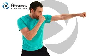 Cardio Kickboxing and Lower Body Strength Workout