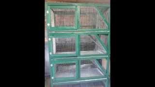 getlinkyoutube.com-Клетки  для кроликов, пошаговое изготовление своими руками
