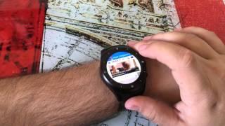 getlinkyoutube.com-K8 Round 3G un verdadero teléfono inteligente en tu muñeca (video en 4K)