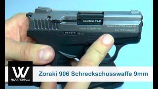 getlinkyoutube.com-Zoraki 906 Schreckschusswaffe 9mm, Titan-Optik, Schreckschusswaffe, Gaswaffe, www.waffenfuzzi.de