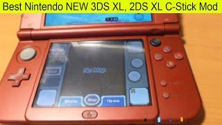 Awesome Nintendo NEW 3DS XL Analog C-Stick Modification Mod