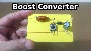getlinkyoutube.com-Boost Converter - How it works?