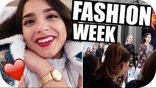 ERSTES MAL auf der BERLINER  FASHION WEEK - Vlog #16   Sanny Kaur