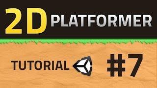 getlinkyoutube.com-7. How to make a 2D Platformer - ANIMATION - Unity Tutorial