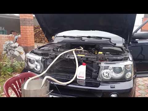 Чистка печки Range Rover Sport