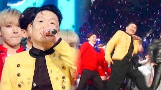 getlinkyoutube.com-《Inkigayo WIN》 인기가요 1위 발표|PSY (싸이) - DADDY(대디) 20151220