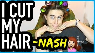 getlinkyoutube.com-I CUT MY HAIR - NASH GRIER (Full Video)