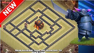 GREAT NEW Th10 War Base | The Crypt | Clash Of Clans