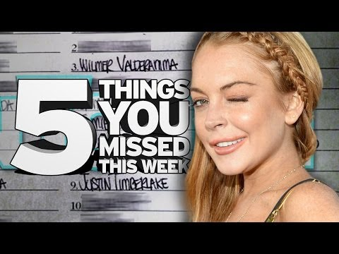 Lindsay Lohan's Sex List. 5 Things You Missed This Week