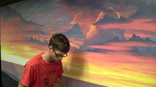 getlinkyoutube.com-How To Paint A Sunset Cloud