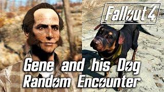 Fallout 4 - Gene and his Dog (Random Encounter)