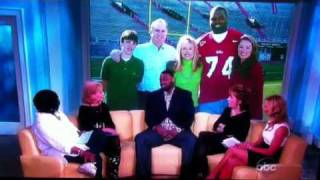 getlinkyoutube.com-Micheal Oher on The View