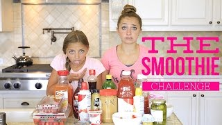 getlinkyoutube.com-The Smoothie Challenge | Brooklyn and Bailey