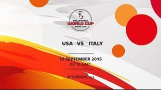 getlinkyoutube.com-USA v Italy - FIVB Volleyball Men's World Cup Japan 2015