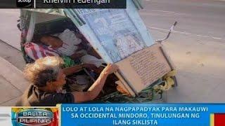 getlinkyoutube.com-BP: Lolo at lola na nagpapadyak para makauwi sa Occidental Mindoro, tinulungan ng ilang siklista