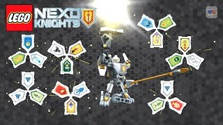 NEW! Nexo Knights Battle Suit Triangulator Combo Power Shields