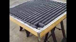 getlinkyoutube.com-Solar Heater Build #2