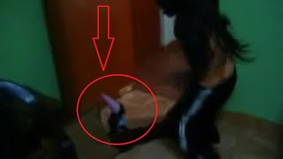 DUENDE EN CASA REAL  (VIDEO VIRAL)