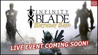 getlinkyoutube.com-Infinity Blade Birthday - Live Event & Giveaways Coming Soon!