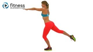 getlinkyoutube.com-Butt and Abs Tabata Workout - Fat Blasting Cardio Interval Workout