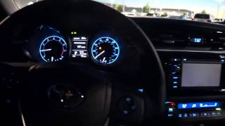 getlinkyoutube.com-2014 Toyota Corolla S CVT Automatic Start up and walk around
