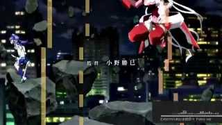 getlinkyoutube.com-Senki Zesshou Symphogear GX OP | Exterminate | Piano ver