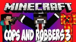 NEW Minecraft COPS AND ROBBERS 3: Escape from Alcatraz