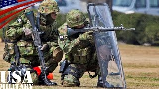 getlinkyoutube.com-在日米軍基地へのテロ攻撃を想定した自衛隊「警護出動」訓練 - Japan Self-Defense Forces Exercise to Guard the US Bases in Japan