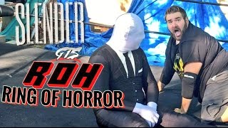 getlinkyoutube.com-SLENDERMAN TRIPLE POWERBOMBED THROUGH A DOOR! 10 WWE FINISHING MOVES TO SLENDERMAN!
