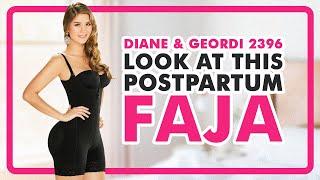 Fajas Colombianas Diane & Geordi 2396 Women's Liposuction Bodyshaper