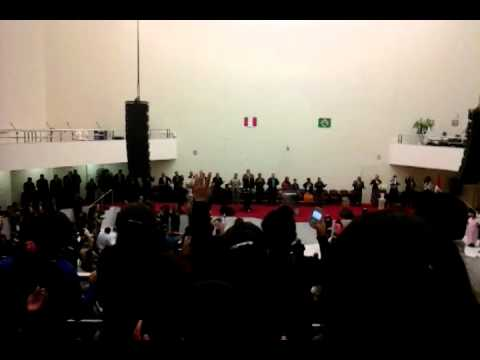 Pastor JOSE MANUEL JAIMES en la Ipda de 07/11/14