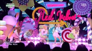 레드벨벳(Red Velvet) - Automatic + Ice Cream Cake @인기가요 Inkigayo 150322