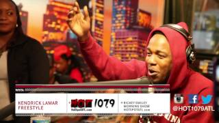 Kendrick Lamar - Rickey Smiley Freestyle