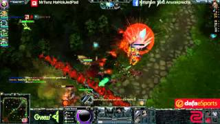 getlinkyoutube.com-556678 Hon Streaming [27/2/2016] Road to 2k mmr day 4