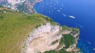 Sorvolando il Monte Solaro di Capri