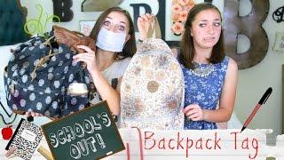 getlinkyoutube.com-School's-Out Backpack Tag | Brooklyn and Bailey