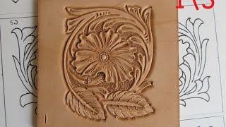 Тиснение шеридан. Sheridan Style Carving. 1\3