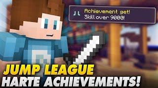 getlinkyoutube.com-SCHWIERIGSTES ACHIEVEMENT!? - Jump League | Minecraft