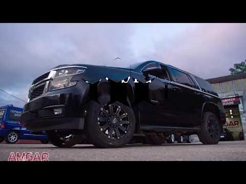 Мощные тормоза на Chevrolet Tahoe. Тюнинг тормозной системы